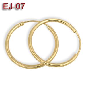 88aea4677653a6 Kolczyki złote kółka 22mm EJ-07 - Jubiler internetowy - złota ...